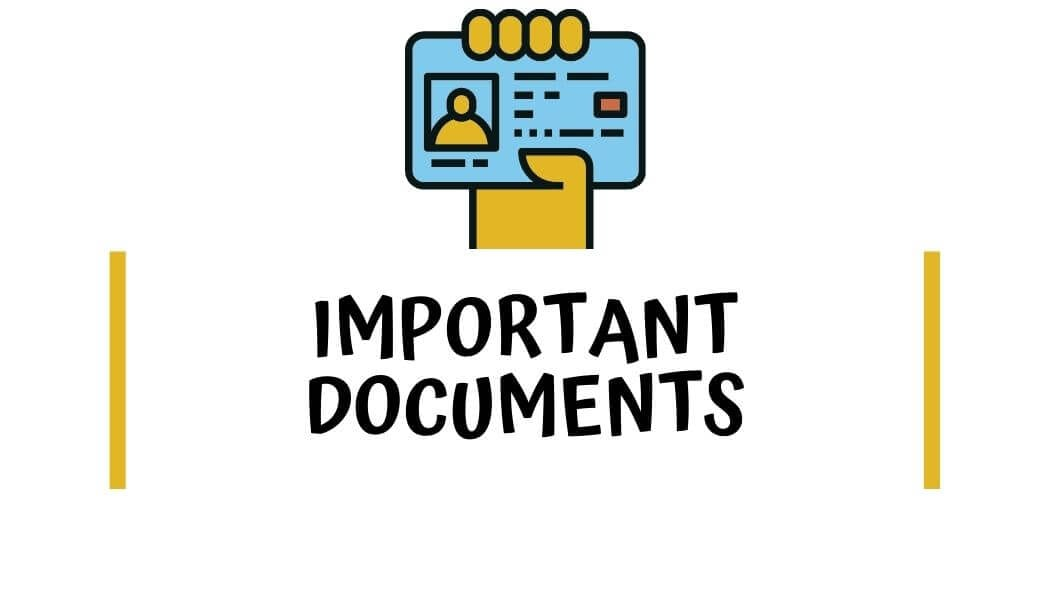 Important documents you need on a road trip