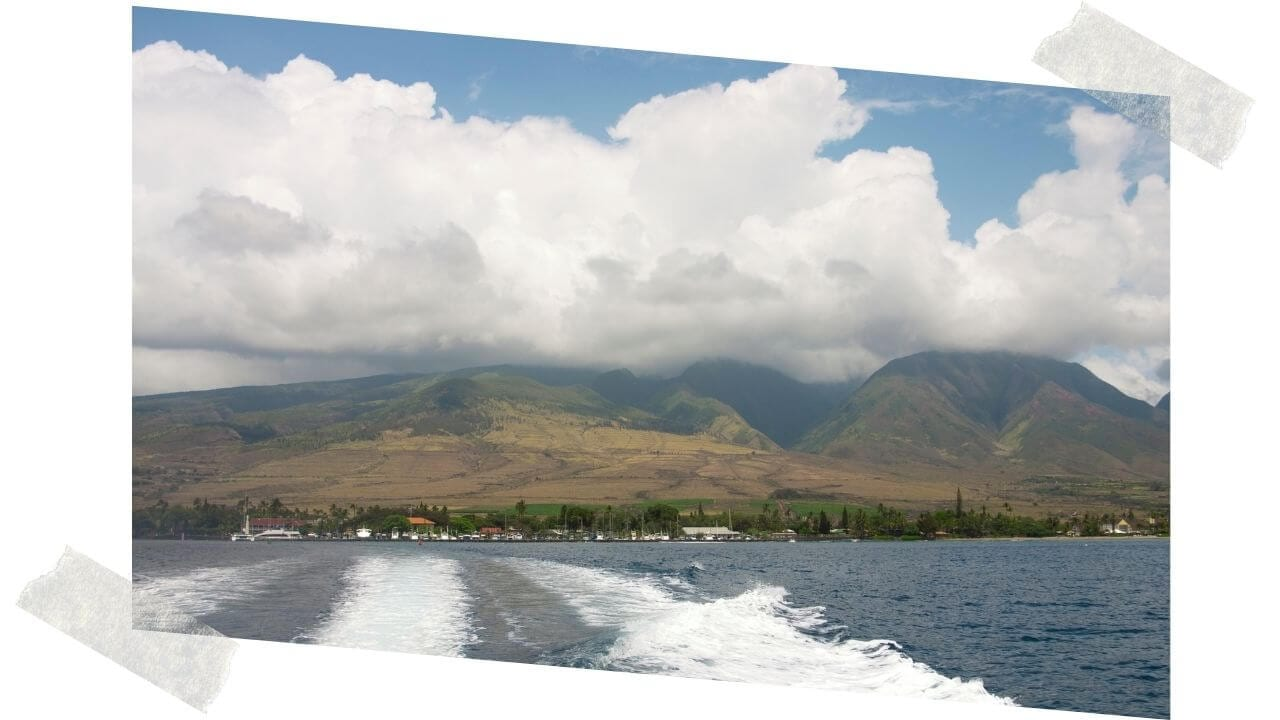 The ferry to Lanai from Lahaina