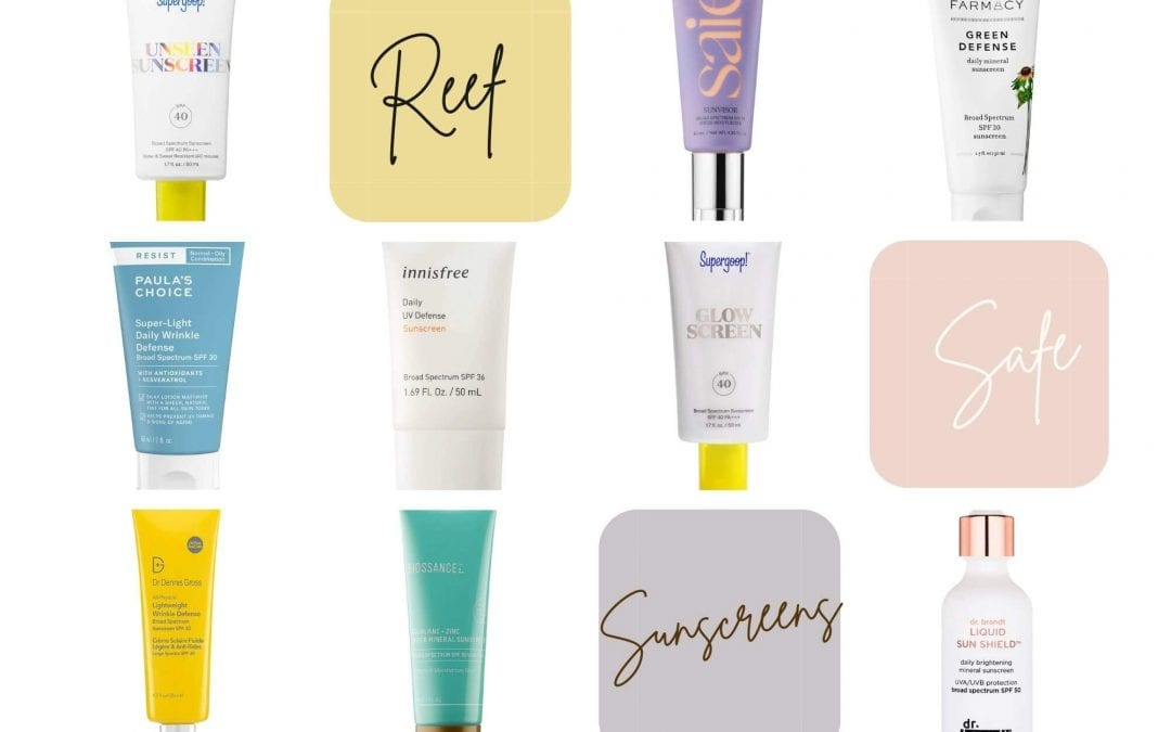 Best Reef Safe Sunscreen Products for your Face