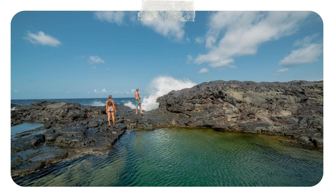 Swimming in the Olivine Pools