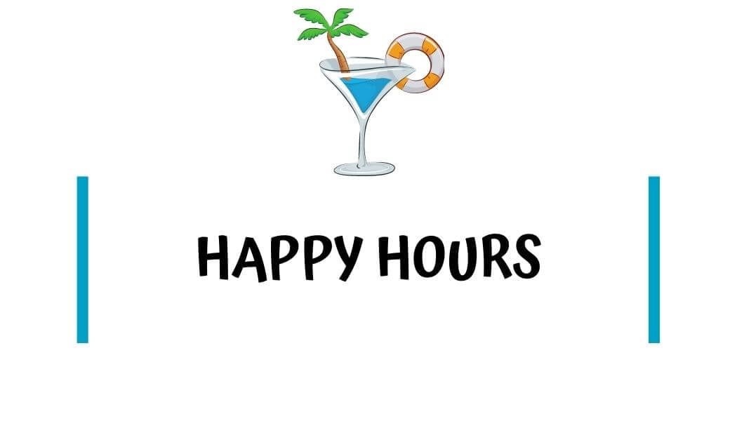 Happy hours in kaanapali