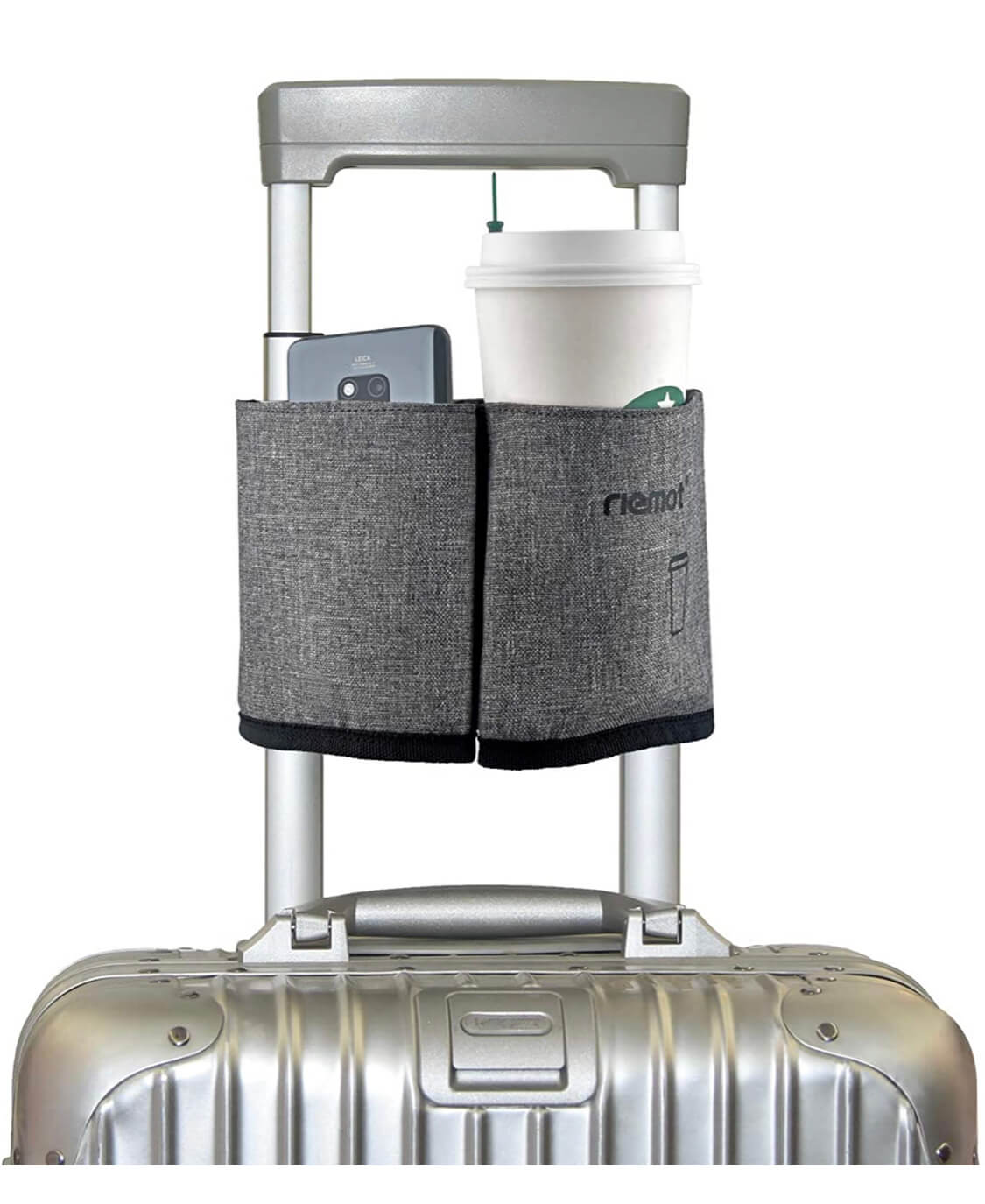 Luggage cup holder