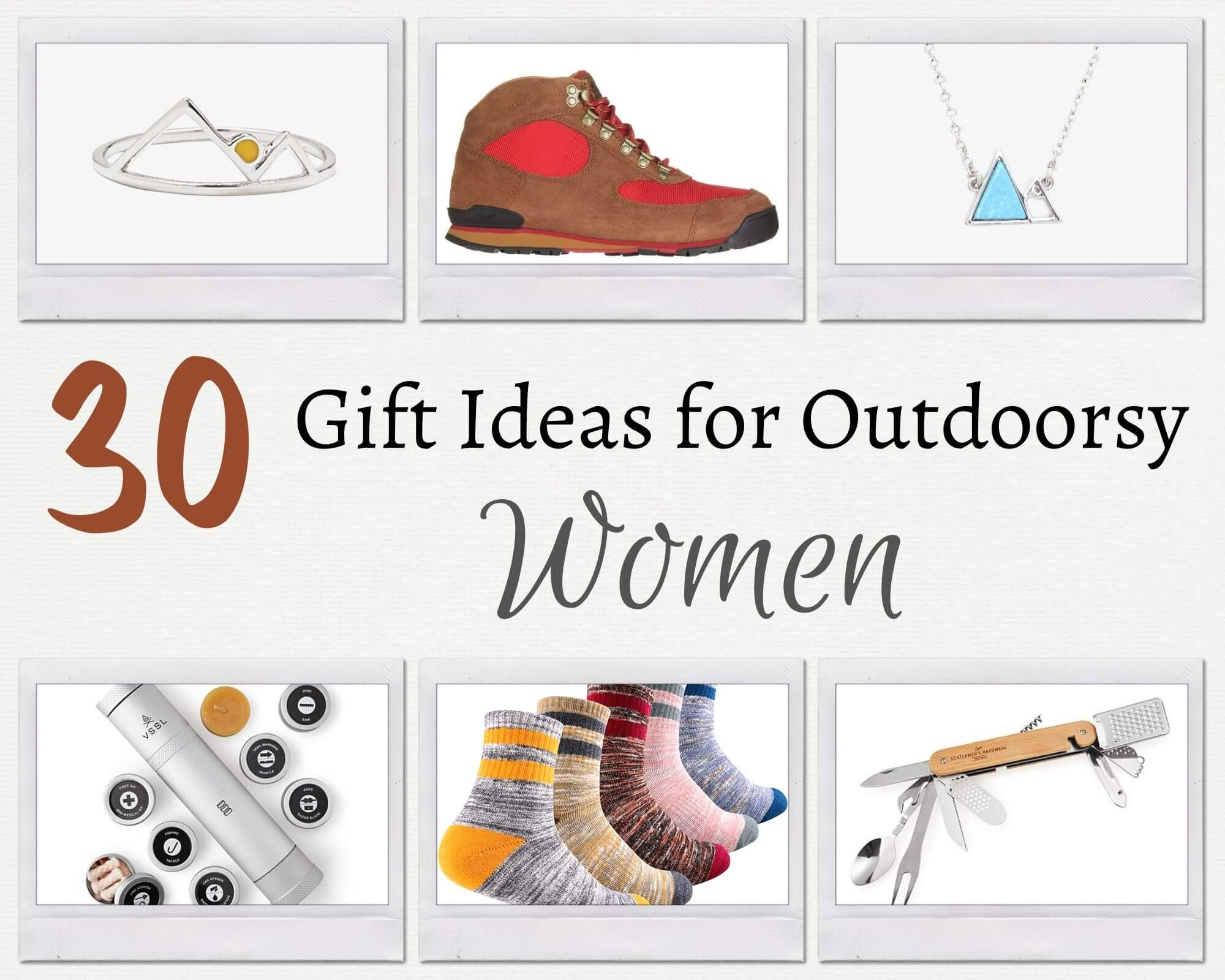 Gift ideas for outdoors women